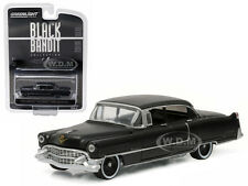 1955 CADILLAC FLEETWOOD SERIES 60 BLACK BANDIT 1/64 MODEL BY GREENLIGHT 27860 A