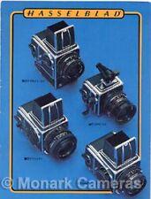 Hasselblad 500C/M SWC/M 500EL/M 2000FC Camera & Lens Range Brochure from 1980