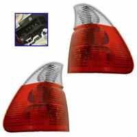 Taillight Tail Lamp Clear Signal Pair Set for 04-06 BMW X5