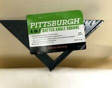 PITTSBURGH  4-in-1 Aluminum Rafter Angle Square