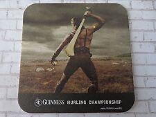 Beer Breweriana Coaster ~*~ GUINNESS Brewing Stout ~*~ Great Hurler: Cu Chulainn