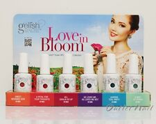 GELISH Harmony Love in Bloom 6 Colours + Salon Display ❤ Spring Collection 2013