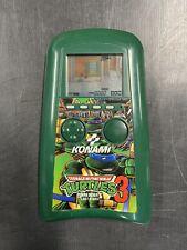 Works! Teenage Mutant Ninja Turtles 3 Shredder's Last Stand Konami Handheld Game