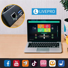 Feelworld Livepro L1 Multiformat Video Mischpult Schalter 4 HDMI Eingang Fpr DE