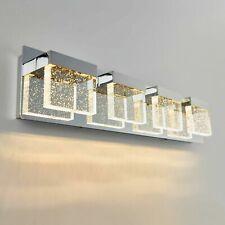 Artika Bubble Cube 4 LED Vanity Light Chrome Plated Finish, Dimmable NEW