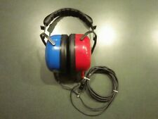 "Amplivox Audiocups Audiometer High Quality Headphones Works great 1/4"" Jack"