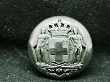 Greece Royal Coat Of Arms 22mm Sp Mounted Device Livery Button Jennens 1835-1925