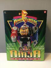 POWER RANGERS Deluxe NINJA MEGAZORD BANDAI 1993 complet en boite + notice