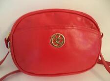 Jane Shilton rosso in pelle Bag Borsa Cross Corpo