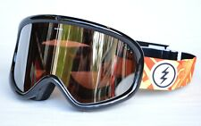 2018 NWT ELECTRIC CHARGER XL SNOWBOARD GOGGLES $85 Jungle Hands/Brose Silver Chm