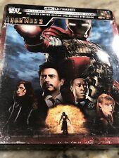 #NEW Iron Man 2 Steelbook (4K Ultra UHD, Blu-ray + Digital Copy) Best Buy