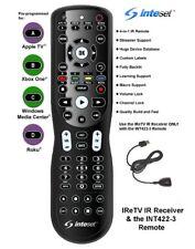 Inteset 4-in-1 Universal Backlit Remote & IReTV IR Receiver Combo