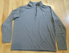 Under Armour Threadborne Fitted Heatgear Men's 1/4 Zip Long Sleeve Shirt Size L