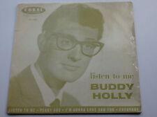 BUDDY HOLLY ORIGINAL  1960  UK E.P. LISTEN TO ME