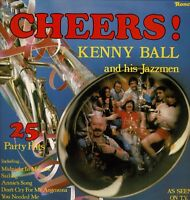 "KENNY BALL AND HIS JAZZMEN Cheers 25 Party Hits 12"" Vinyl LP Album Ronco DA"