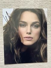 keira knightley signed