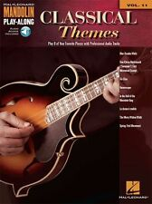 Mandolin Play-Along Classical Themes Classic Songs MUSIC BOOK ONLINE AUDIO