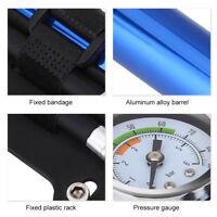Mini Ultralight Mountain Bike Pump With Pressure Gauge Ball Tire Inflator ZH