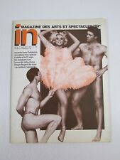In Magazine Oct Nov 1977-French Gay Interest Male Nudes-Theater Film Arts
