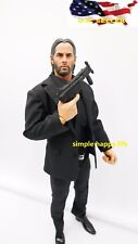 custom 1/6 John wick figure 2.0 black suit set w/ gun toy hot ❶US SELLER❶