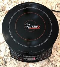 "NuWave 2 Precision Induction Cooktop, 12-1/4"" Diameter, Manual, Cookbook, Dvd"