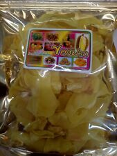 Fried Durian  Monthong Crispy Chips Premium Grade Naturally Fruit Snack 200 g.