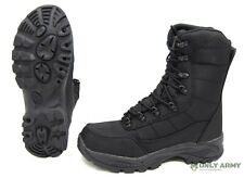 More details for commando black boots dutch army special forces style waterproof assault combat