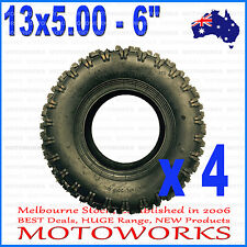"4 X 13 x 5.00 - 6"" inch Tyre Tire ATV QUAD Bike Gokart Scooter mini Buggy Mower"