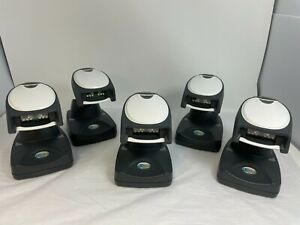 Lot 5 HONEYWELL 4820 CORDLESS IMAGER BARCODE SCANNER BAR CODE READER WITH BASE