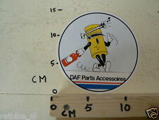 STICKER,DECAL DAF PARTS ACCESSOIRES