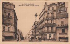 SAINT-NAZAIRE 73 place carnot et rue ville-ès-martin clinique dentaire pub byrrh