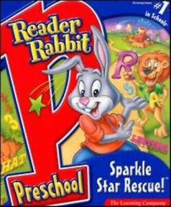 Reader Rabbit Preschool: Sparkle Star Rescue! PC MAC CD learning game! Age 3-5