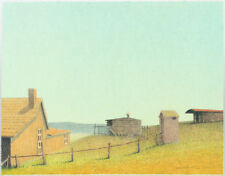 "Russell Chatham Original lithograph ""The Old Homestead"" S/N, 2001"