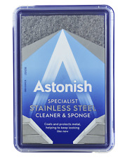 Astonish Stainless Steel Cleaner With Sponge 250g