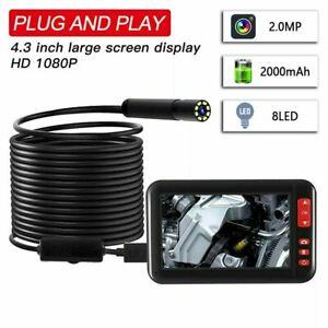 "1080P 4.3"" Camera Inspection Borescope Endoscope Pipe Tube Scope Car Repair Tool"