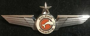 DOLPHIN AIRLINES CAPTAIN WING 3RD ISSUE