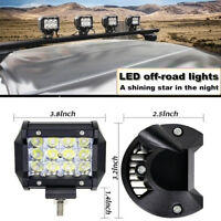 36W 4 inch Car Waterproof 12V DC Work Light Led Offroad Light Bar Driving Lamps