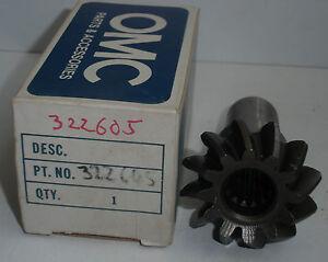 Johnson Evinrude Pinion Gear OMC 322605