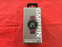 BRAND NEW Garmin Forerunner 245 GPS Running Watch - Black/ Berry