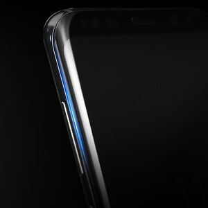 Samsung GALAXY S8 Tempered Glass Screen Protector Film Curved FULL 3D Black