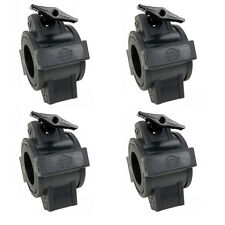 O CLAMP - Lot of 4 DJ & Stage Lighting Mounting O Clamps for Stand and Truss