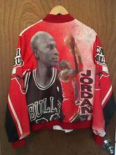 Vintage JORDAN Chicago Bulls Chalk Line Jacket......Varsity, NBA Basketball, 80s