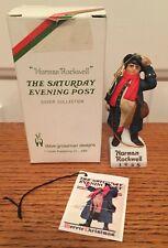 "Norman Rockwell Christmas Ornament 1985 ""X-mas Coachman"" Dave Grossman Nrx-85"