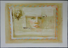 William BAGGETT, Original Lithograph, Reflex, Signed Numbered