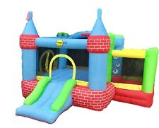 Jumping Castle Red Brick Party Event Childrens  *MELB HIRE ONLY**