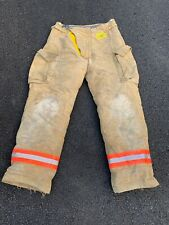 Morning Pride Fire Fighter Turnout Pants 36 X 34 Good Condition