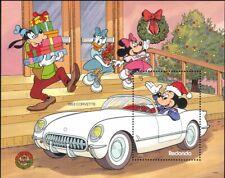 Redonda 1989 Disney/Christmas/Cars/Mickey/Minnie/Goofy/Cartoons 1v m/s (b608z)