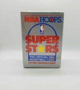 1989-90 NBA Hoops SuperStars 100 Card Box - Jordan Yellow - Factory Sealed Box