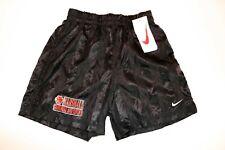 Nike vintage Nylon 2000er Shorts shiny Sporthose Gr. S black schwarz Neu GS4