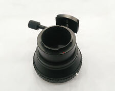Adapter w/ removable tripod socket for Hasselblad V Lens to Sony E Mount camera
